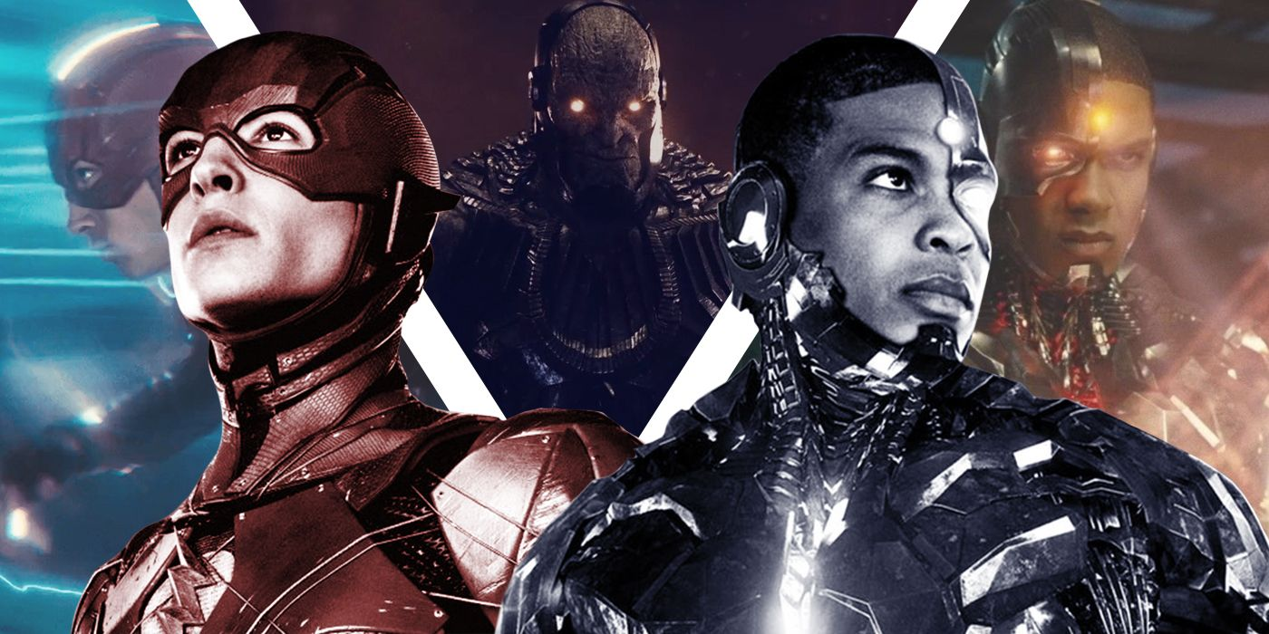 The Flash and Cyborg in Zack Snyder's Justice League