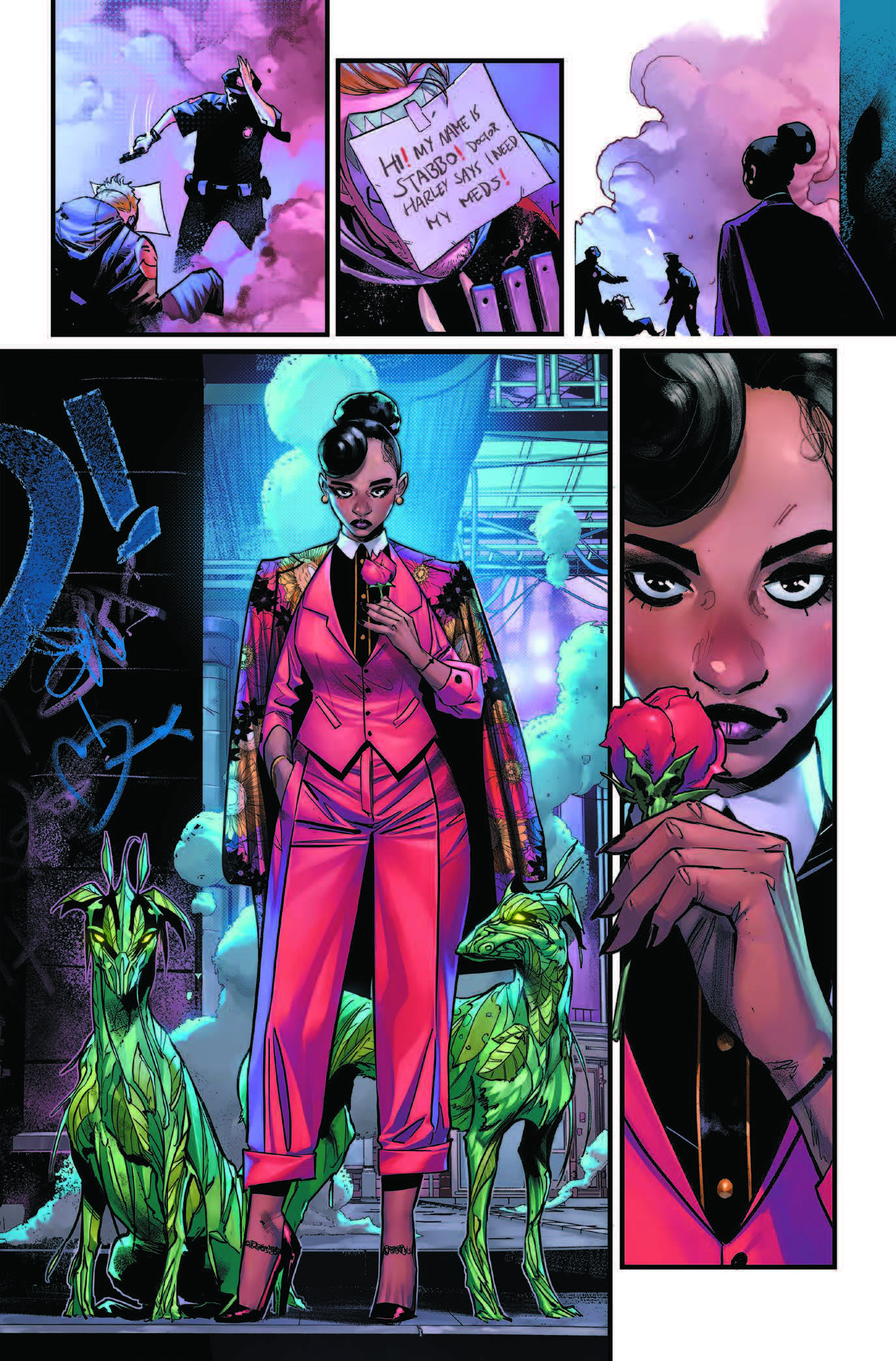 First Look: Batman #107 Page eleven