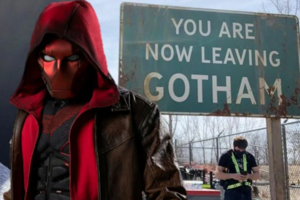 Titans Season 3 features outskirts of Gotham City with set photo from Curran Waters (Jason Todd/Robin/Red Hood)
