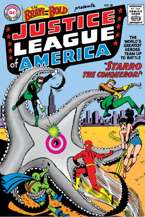 Starro's very first appearance in comics