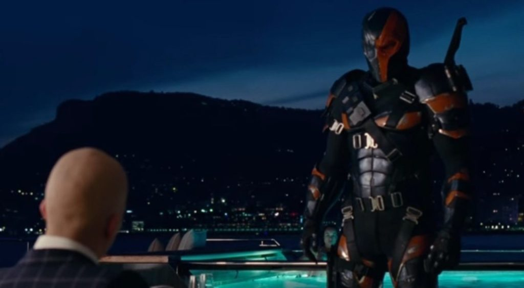 Lex Luthor and Deathstroke meet in both versions of 'Justice League'