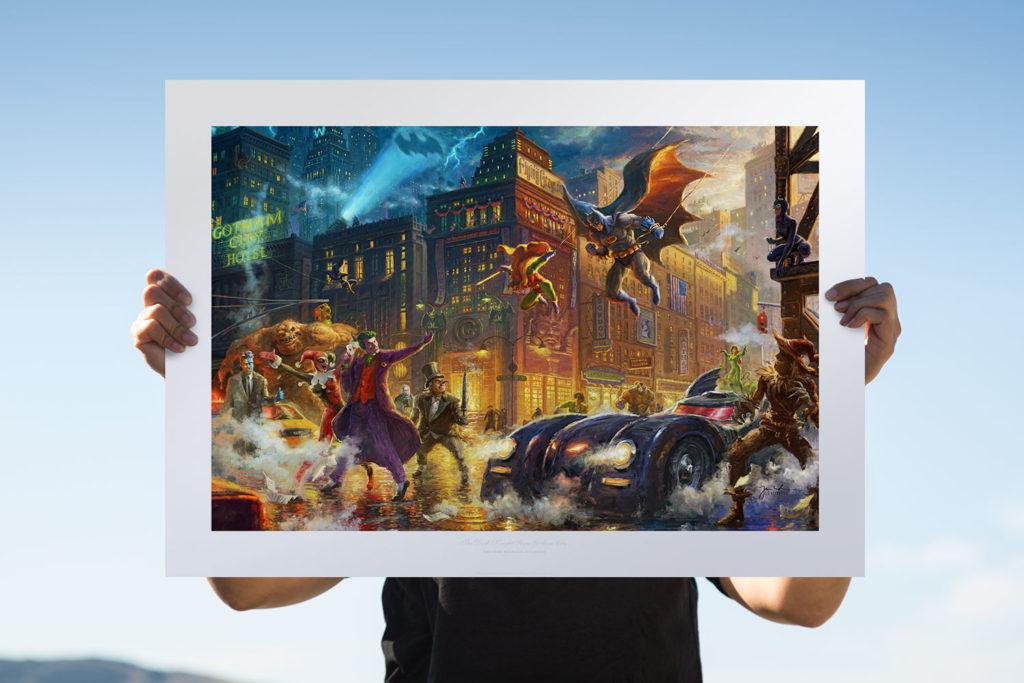 Batman and Robin art print on Sideshow