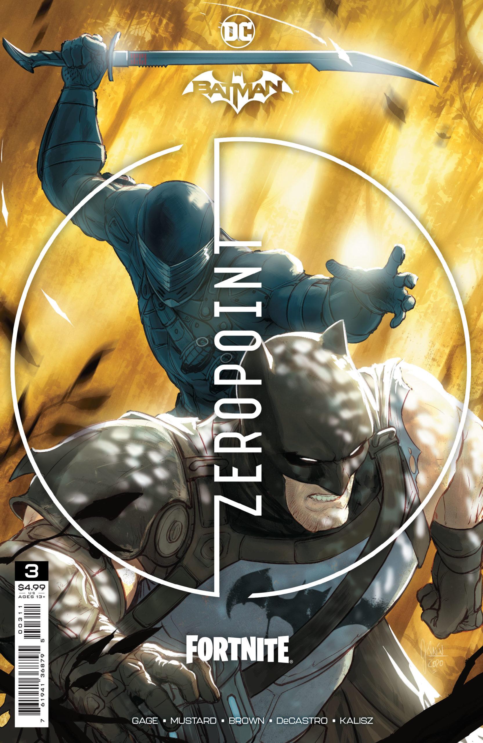 Batman.does Not Kill Fortnite Dkn Interview Batman Fortnite Zero Point Creative Team Christos Gage And Reilly Brown Dark Knight News