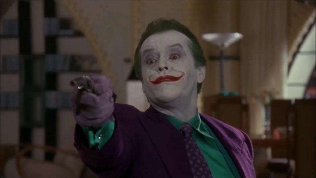 Jack Nicholson as The Joker in Batman '89
