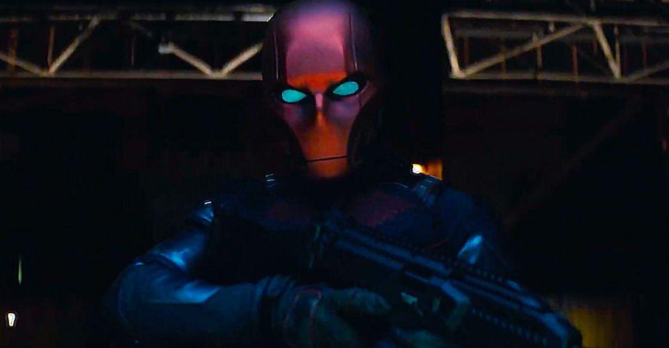 Curran Waters as Red Hood in Titans Season 3 Episode 2