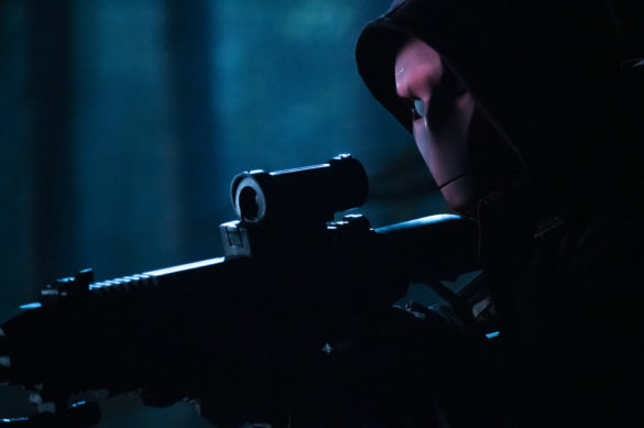 Curran Walters as Jason Todd/Red Hood in Titans Season 3 Episode 4 Blackfire