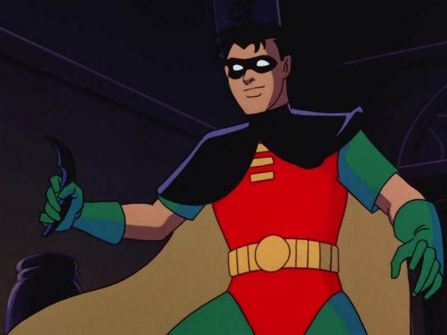Robin in Batman: The Animated Series